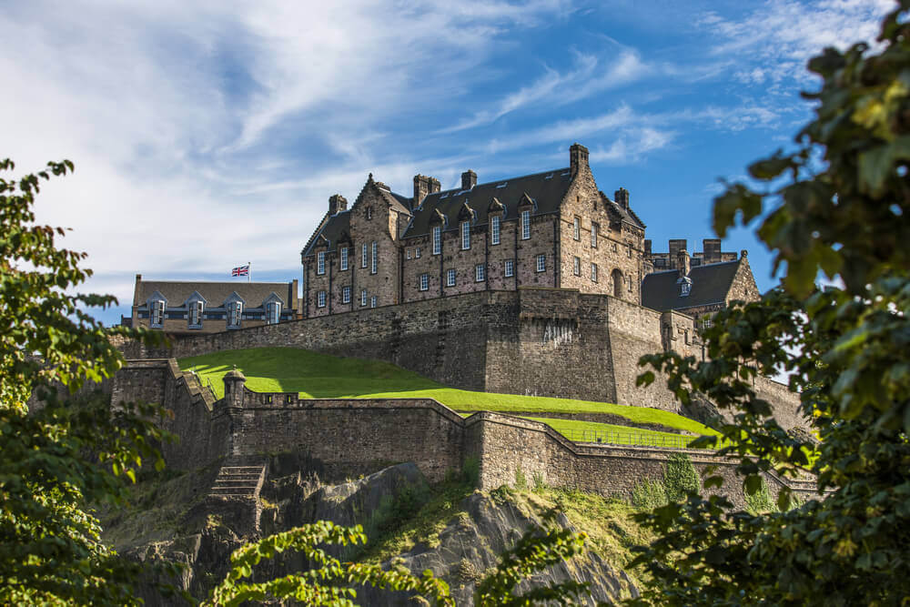 #Edinburgh #Castle #Scotland
