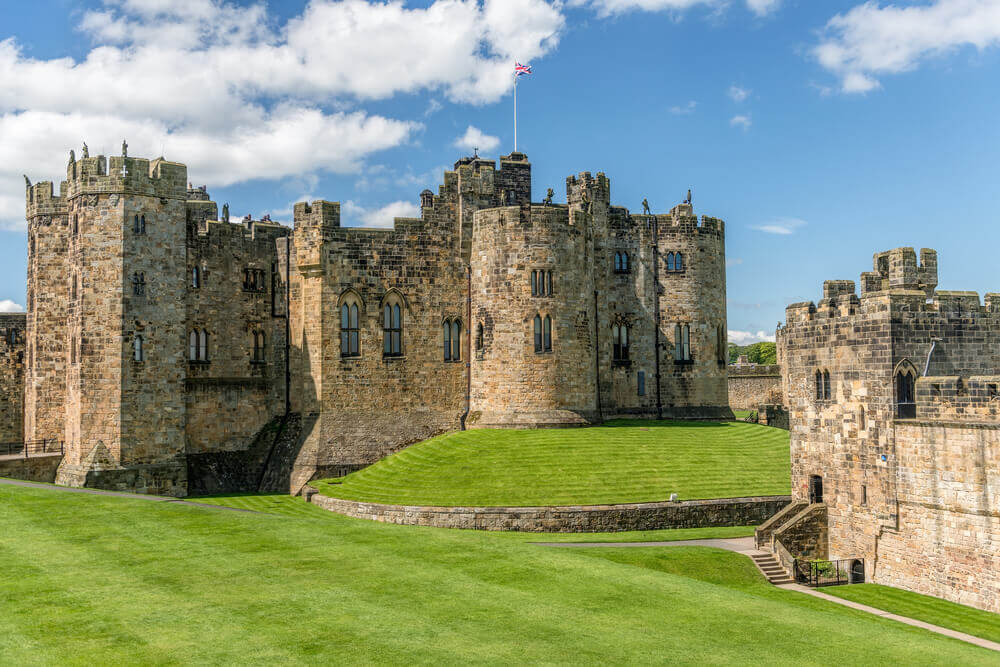Alnwick Castle, Scotland
