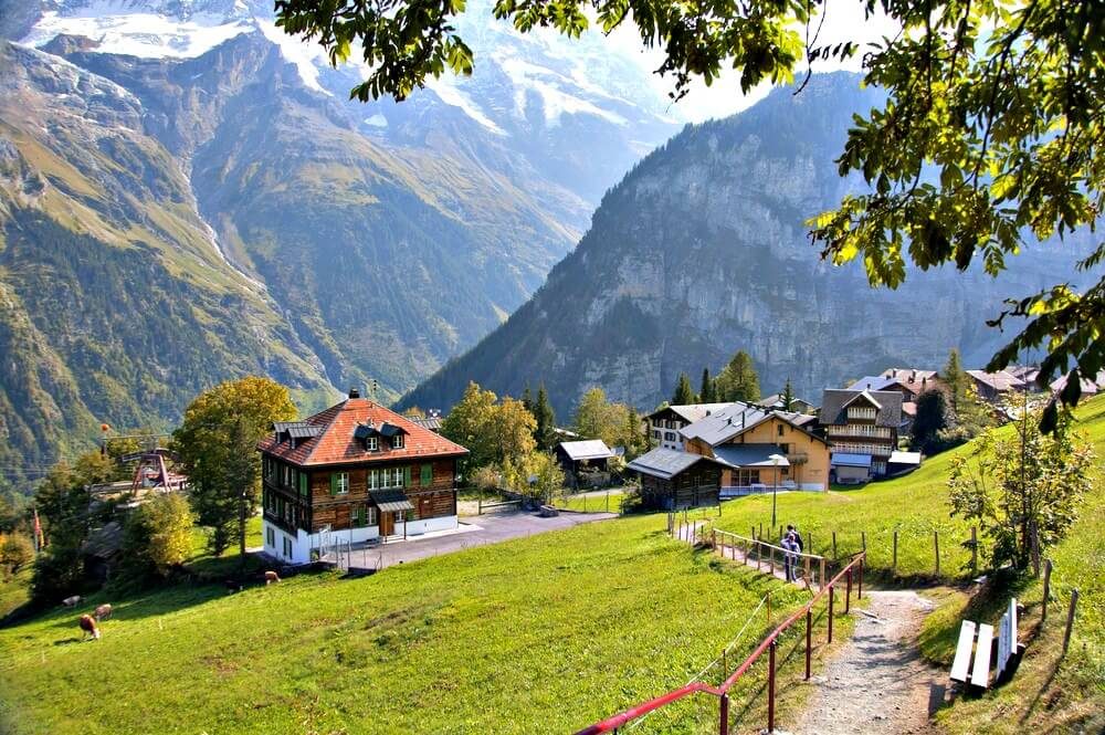 #Gimmelwald #Switzerland #village