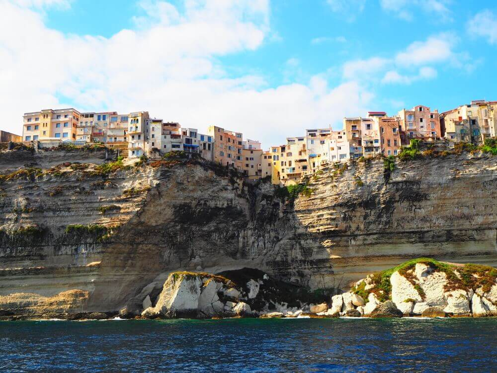 Bonifacio breathtaking landscapes in Europe