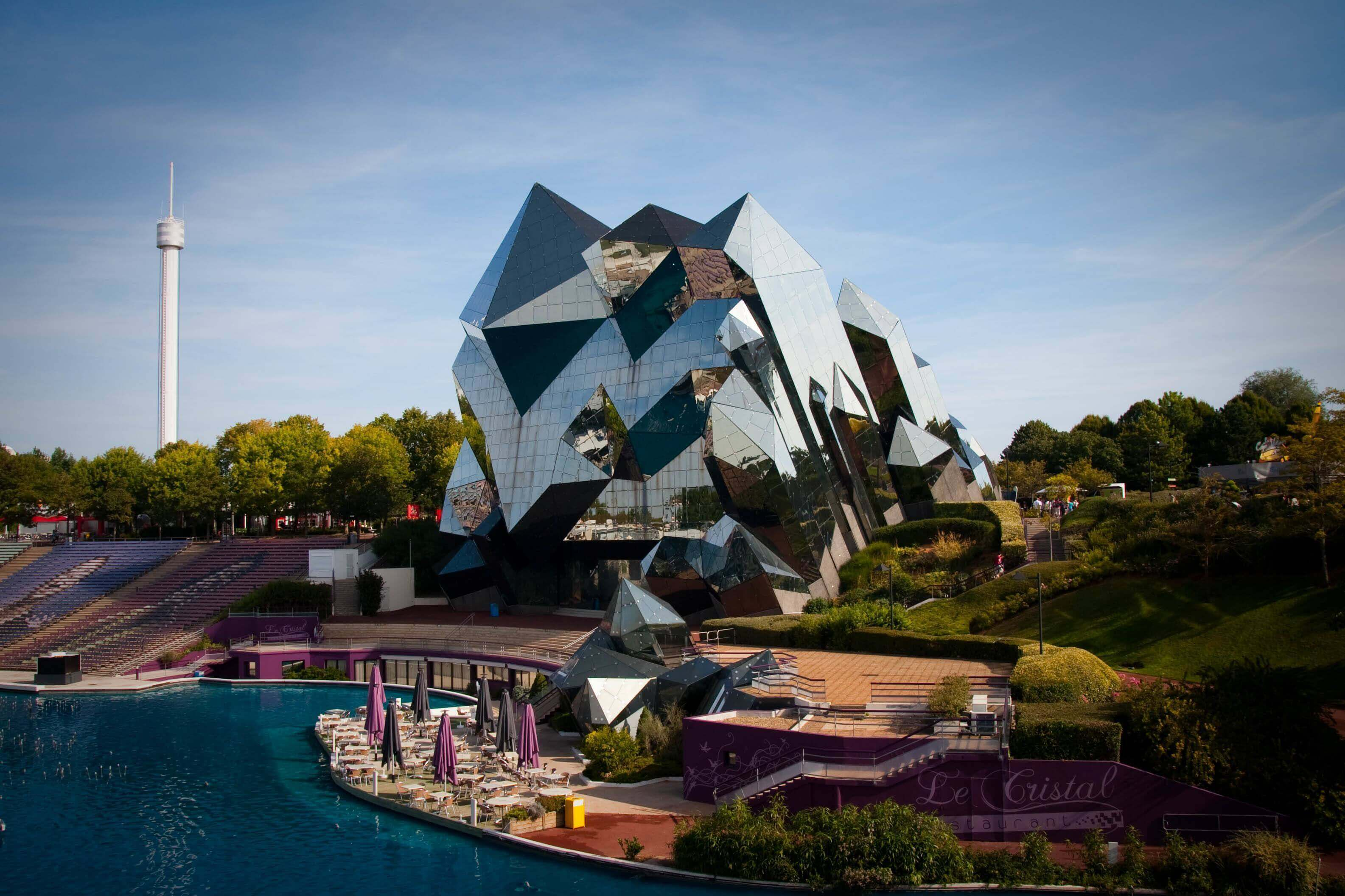 Futuroscope, France - best theme parks in Europe