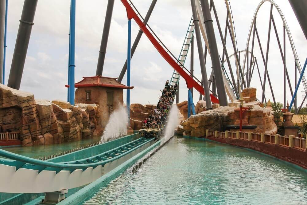 PortAventura, Spain best theme parks in Europe