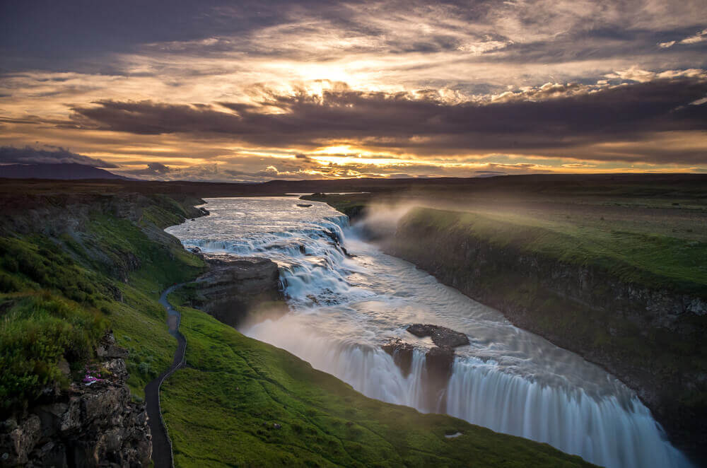 #Gullfoss #waterfall #iceland best things to do in Iceland