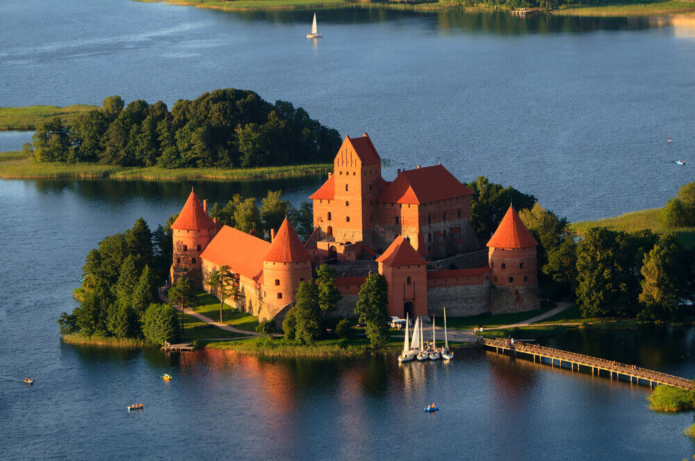 #Trakai #Island #Castle #Lithania Baltic Holiday
