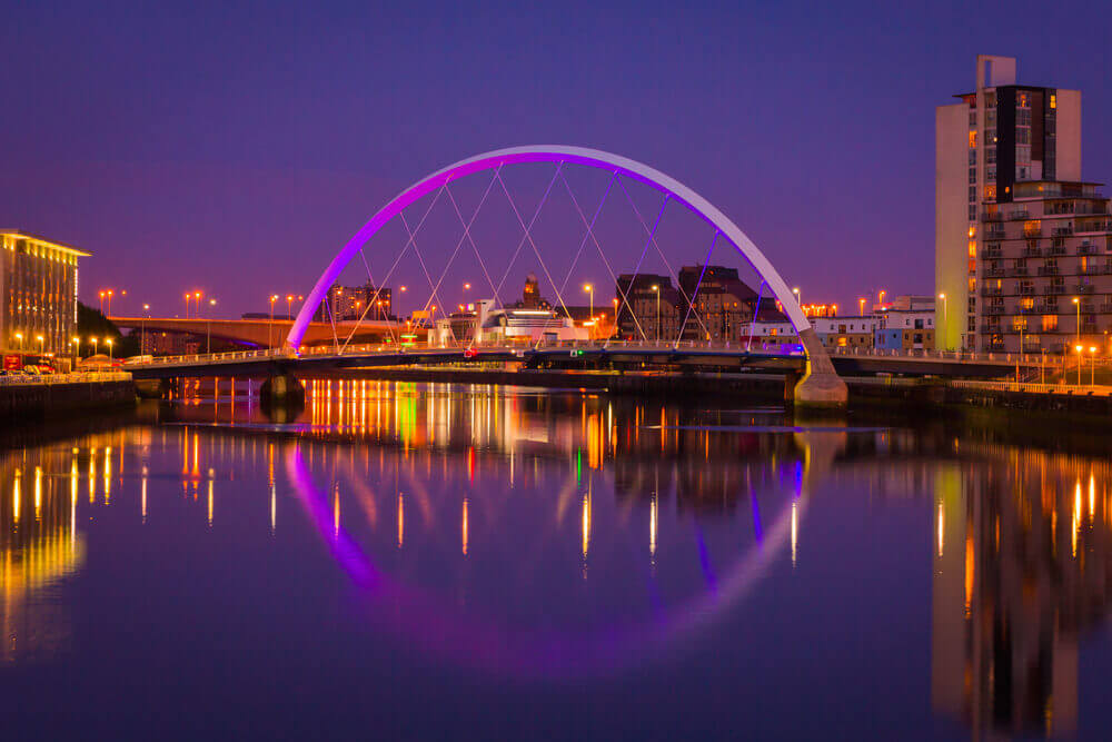 #Glasgow #Scotland #Bridge