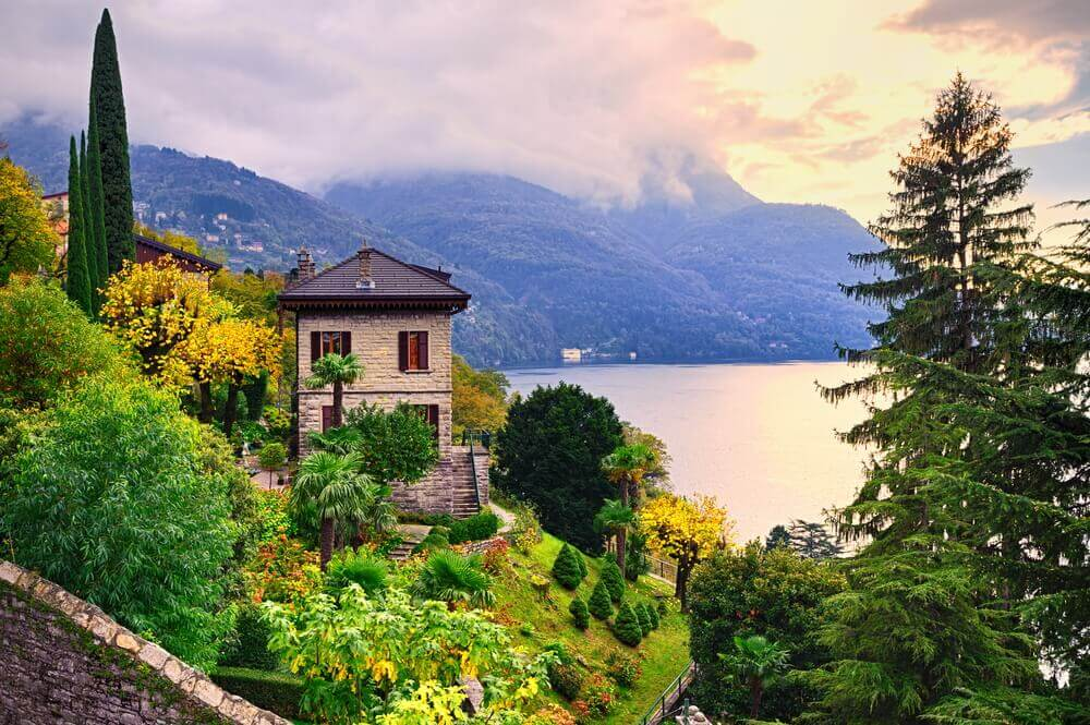 #Villa #Bellagio #lake #como #italy