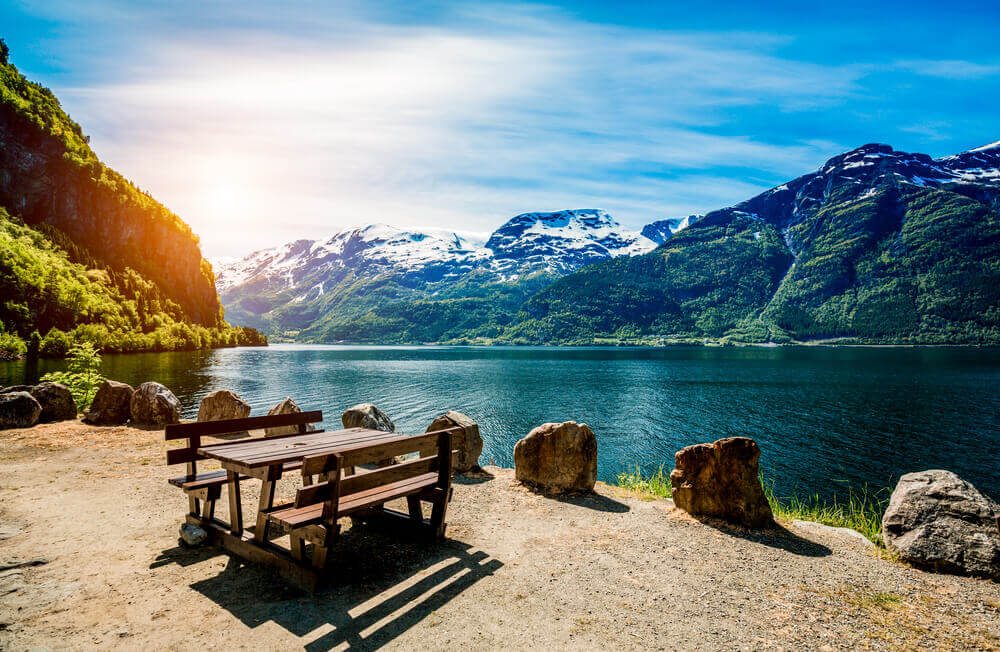 Norway scenery, European trip planner