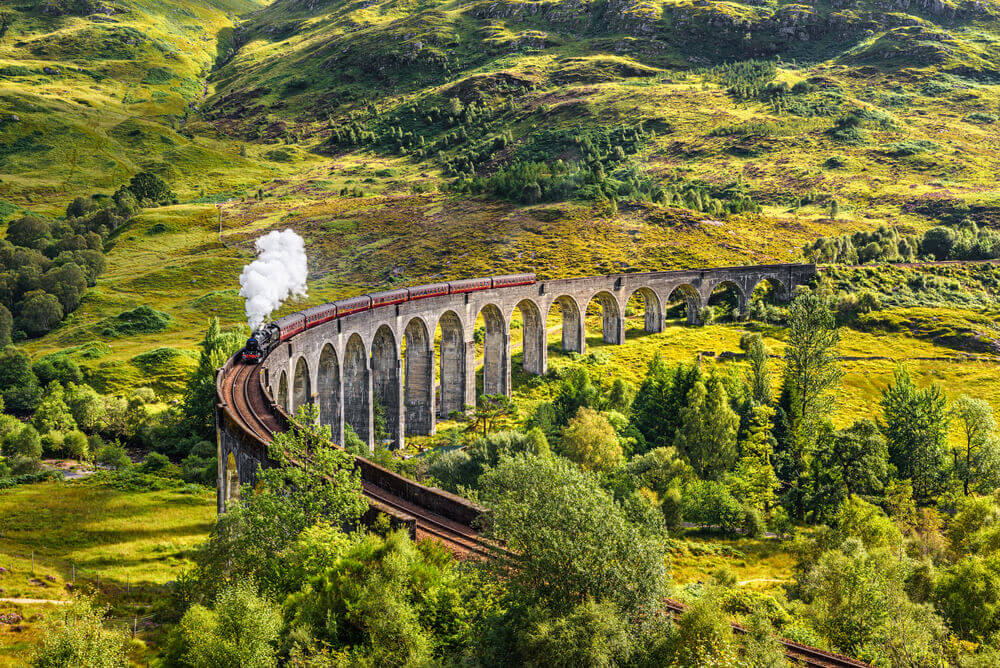 #Glenfinnan #Railway #Scotland