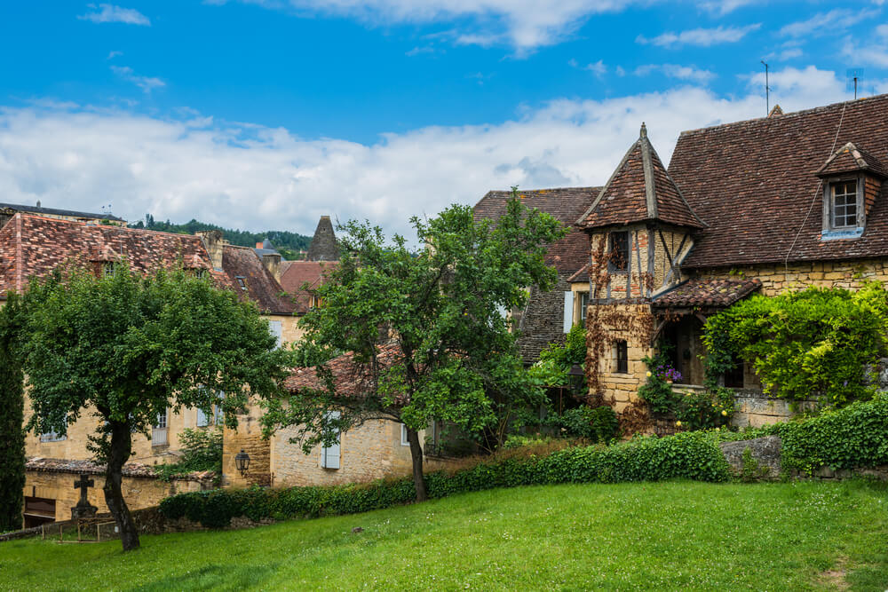 Sarlat la Caneda in France