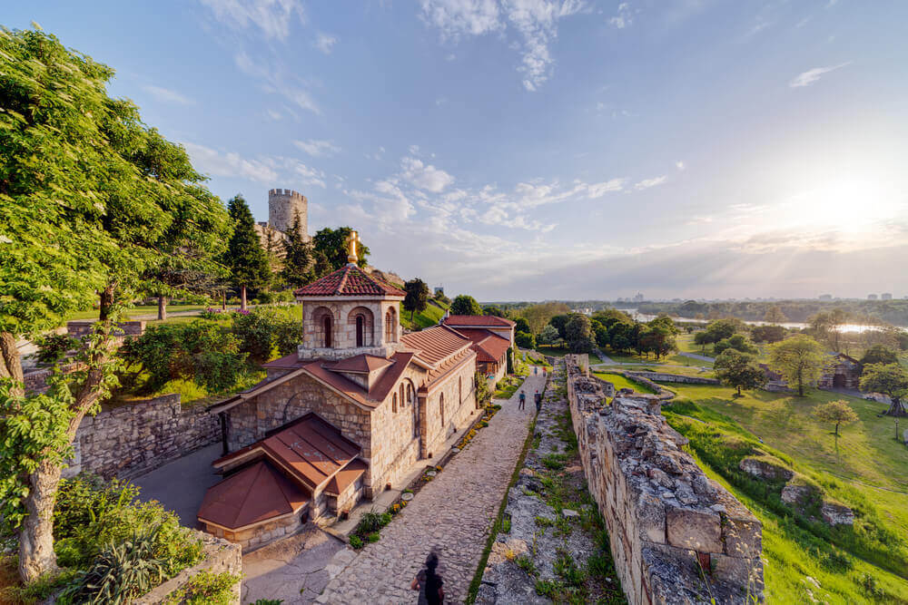 Belgrade fortress and Kalemegdan park, Belgrade, Serbia
