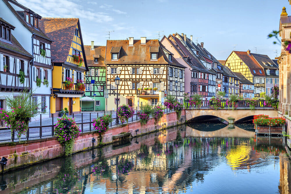 Colmar in France is a romantic small town