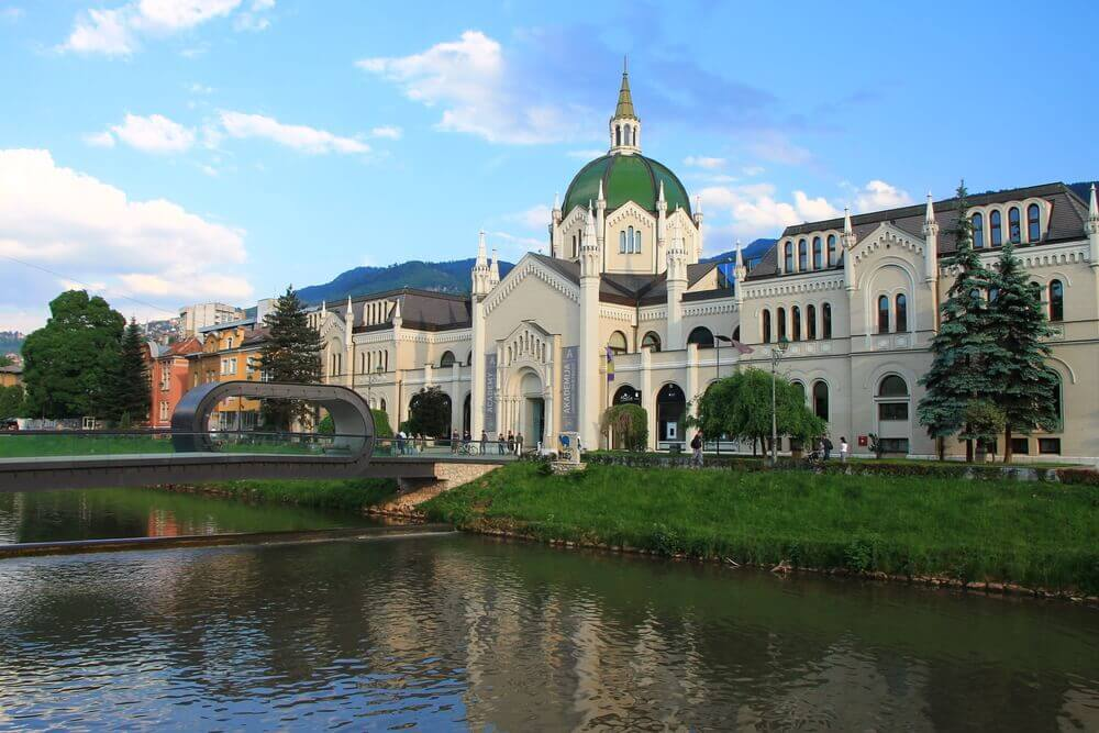The Academy of Fine Arts in Sarajevo, Bosnia and Herzegovina