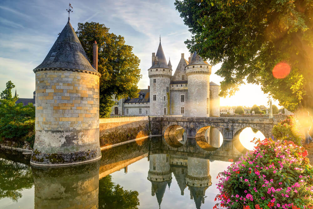 The chateau of Sully-sur-Loire, Loire Valley, France planning a trip to France