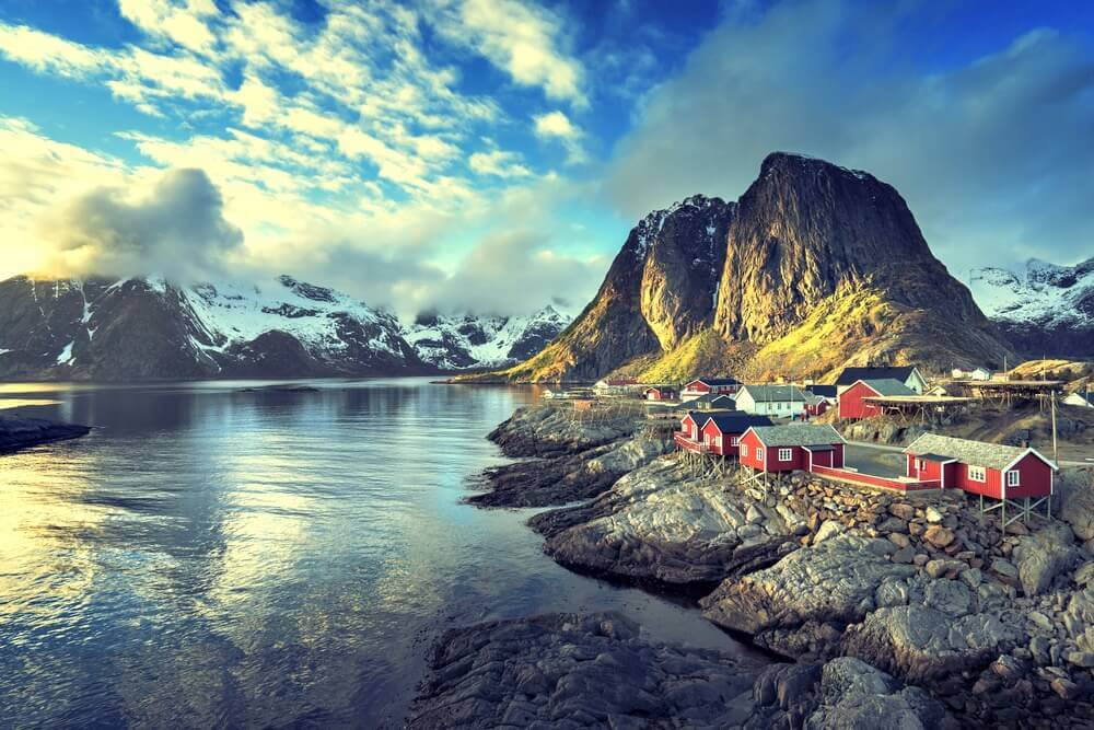 #Reine #Norway #village #smalltown
