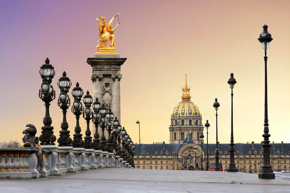 Pont Alexandre III, Paris, France planning a trip to France