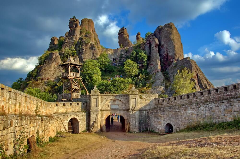Belogradchik rocks Fortress bulwark, Bulgaria