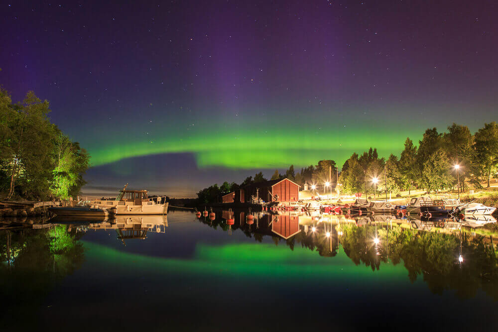 Following The Northern Lights
