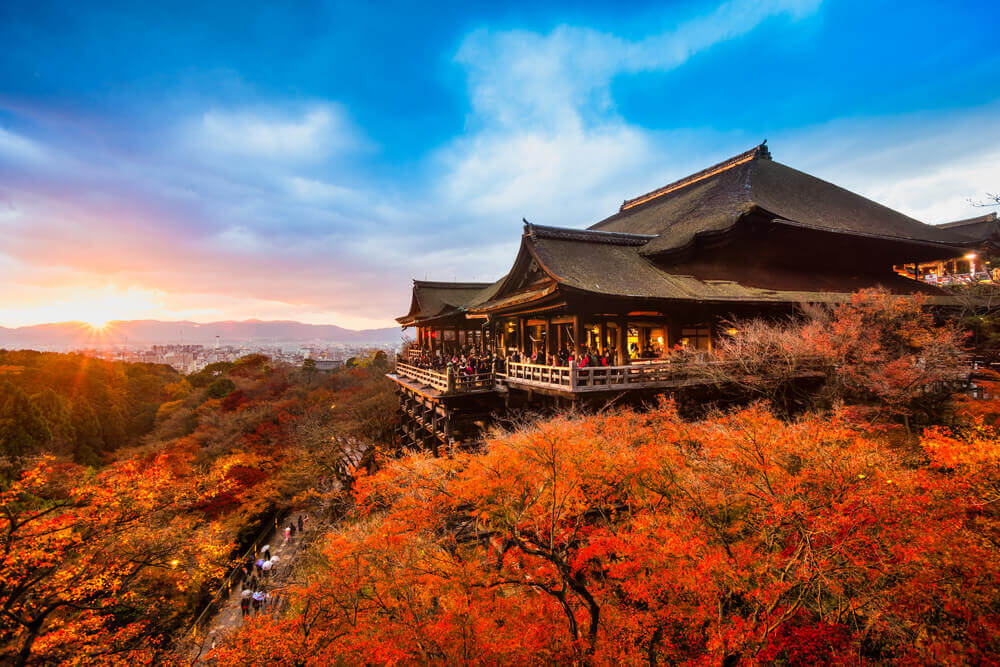 Kiyomizu-dera Temple in Kyoto, Japan, best places to visit in japan