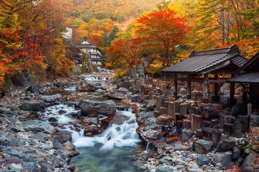 Japan's natural bath - Onsen , best places to visit in japan