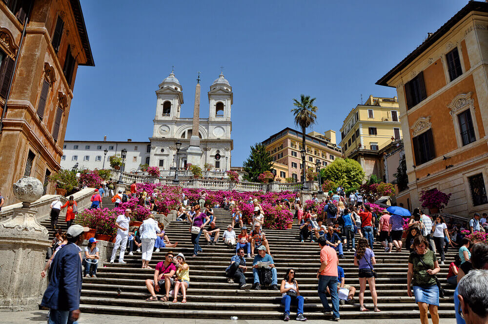 Azaleas on the Spanish Steps