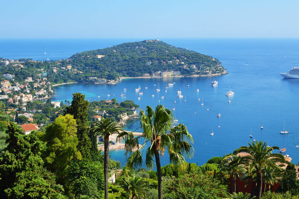 The French Coast - Cote d'Azur Palm Yacht