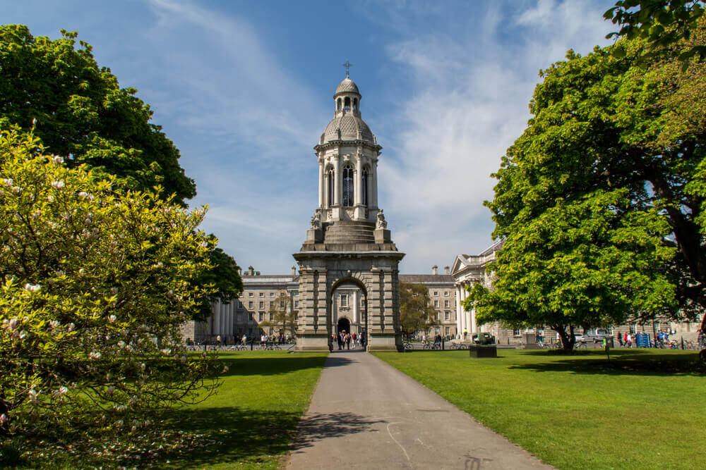 Trinity College, Dublin. Europe trip planner tool