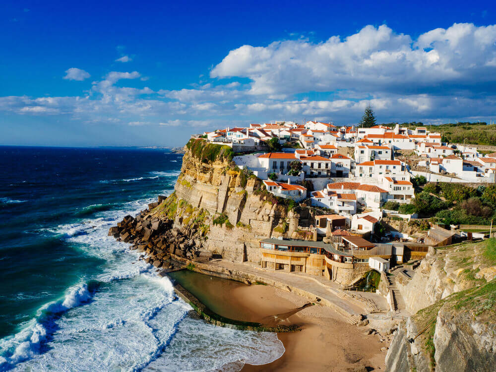 Seaside Town near Sintra, Portugal. Europe trip planner tool