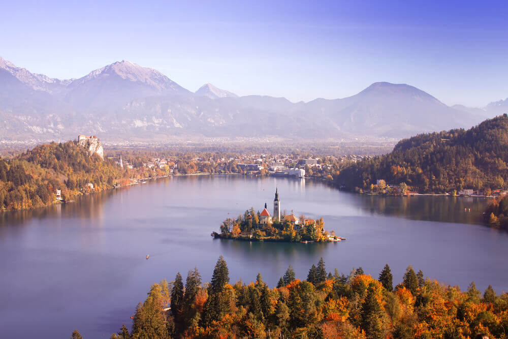 Lake Bled, Slovenia. Europe trip planner tool