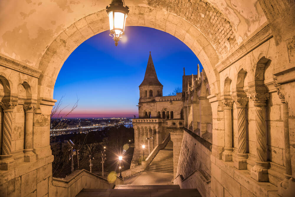 Fisherman's Bastion, Budapest. Europe trip planner tool