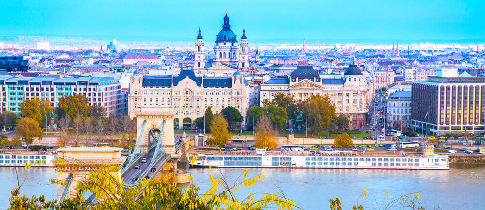 Budapest City-scape. Europe trip planner tool
