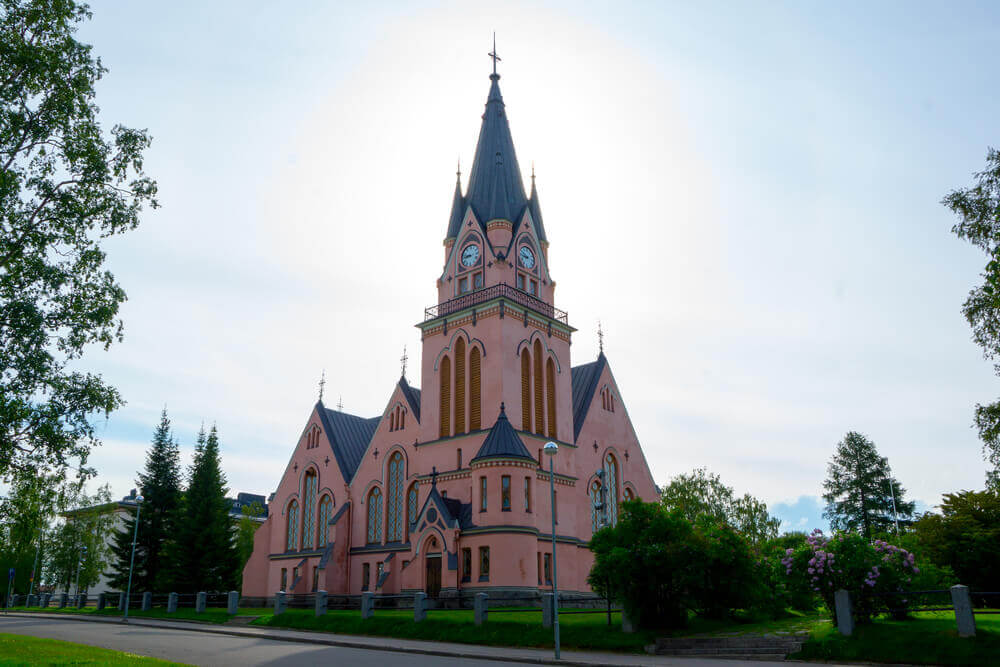 Trip to Finland. Kemi, Finalnd Church, Diocese of Oulu