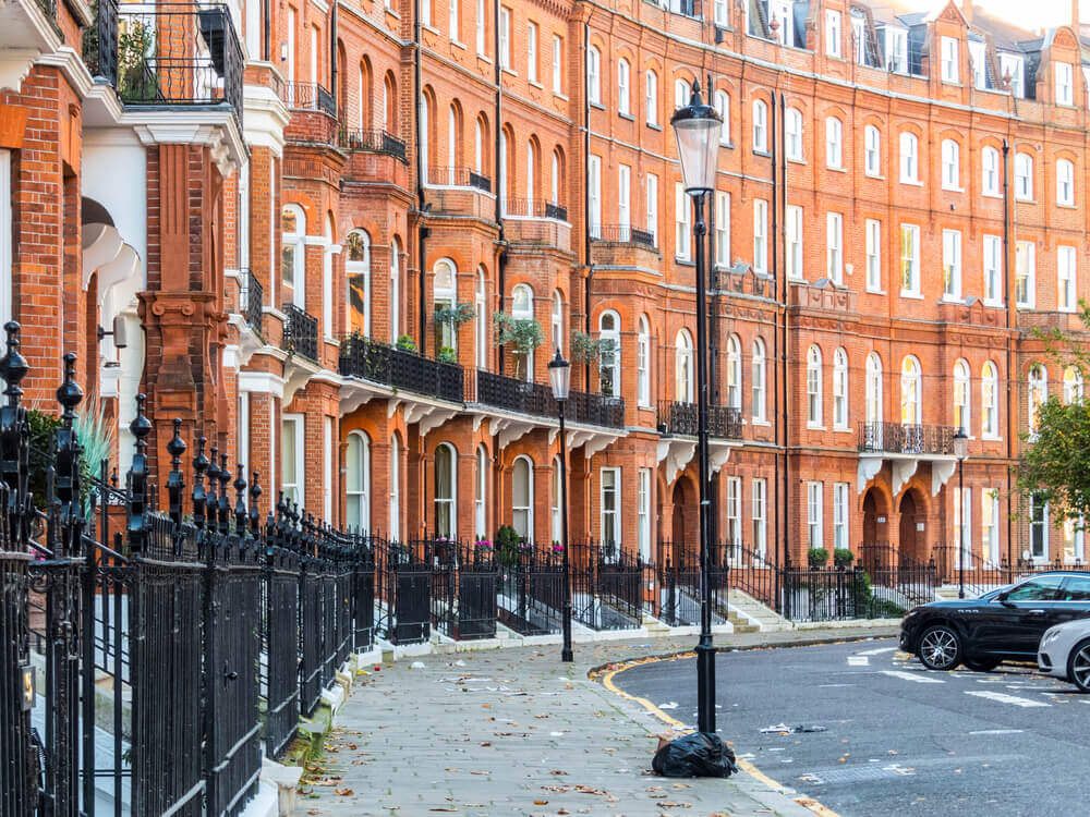 UK Trip. London , November 2017. A view of Lennox Gardens which is located in Knightsbridge.