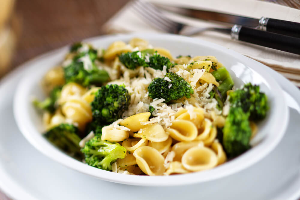 Pasta Orecchiette with broccoli. attractions in Italy
