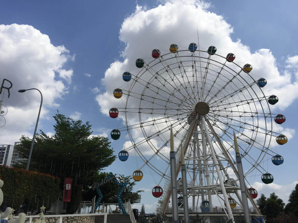 plan your trip. Ferris Ferris theme park I-City during the day