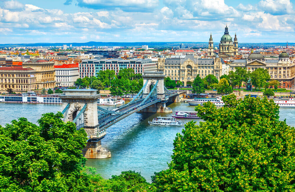The best road trip map for Hungary, chosen by our Routeperfect users