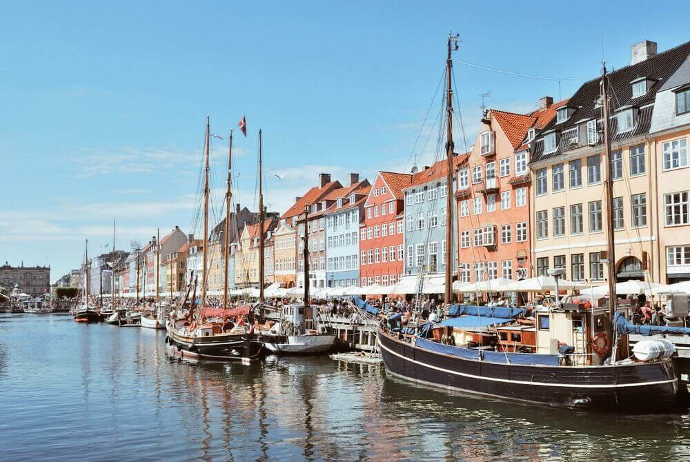 Wander around the streets of Copenhagen on your trip to Europe.