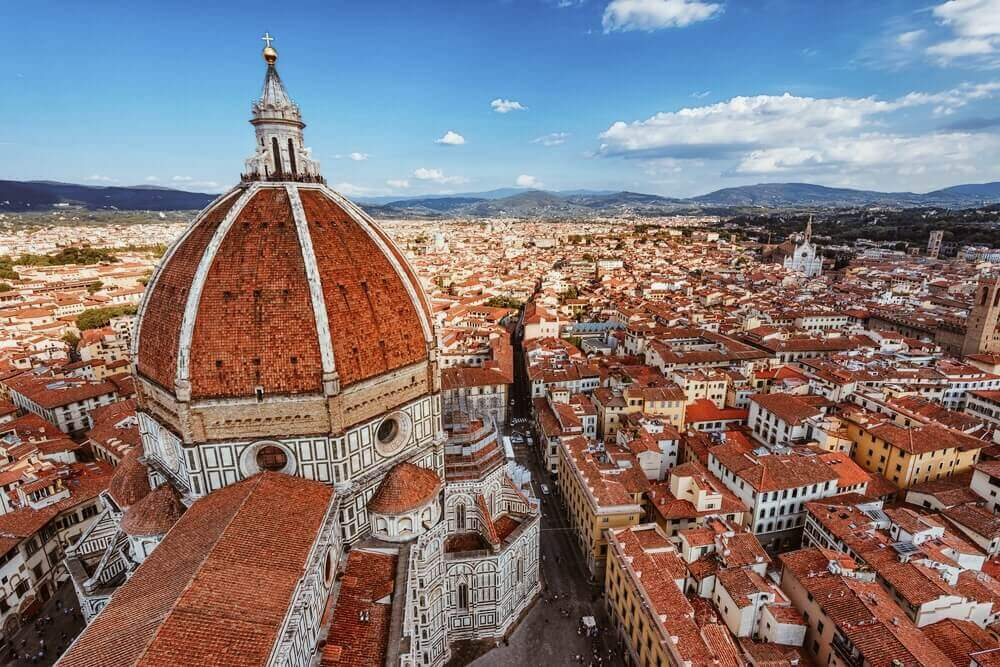Wander around the streets of Florence on your trip to Europe.