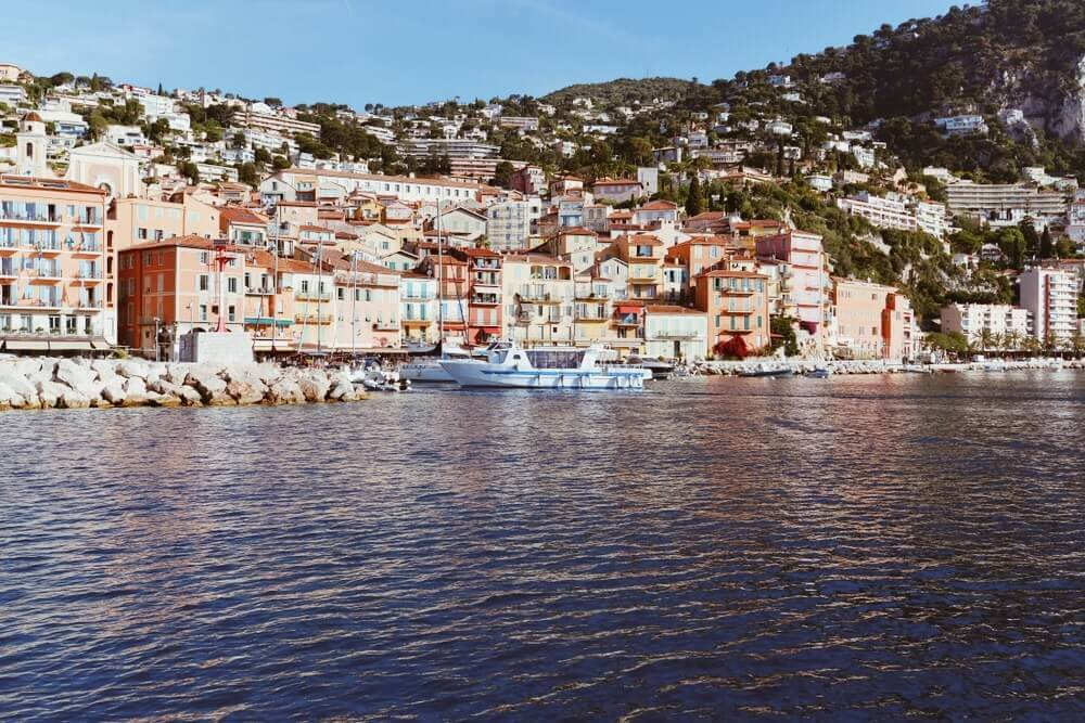Walk around the beached of Nice on your trip to Europe.